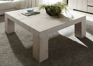 Table Chene Blanchi : table basse palmira chene blanchi ~ Teatrodelosmanantiales.com Idées de Décoration