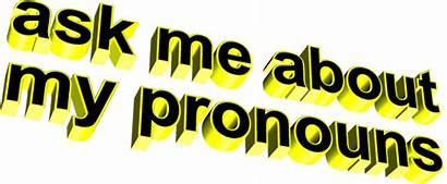 Pronouns Yellow Genderqueer Animatedtext Gifs Giphy