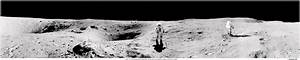 Apollo 16 Photos - Plum Crater panorama Photo