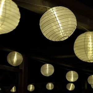 Lampions Mit Led : led lichterkette mit 15 xxl lampions innen und au en ~ Watch28wear.com Haus und Dekorationen