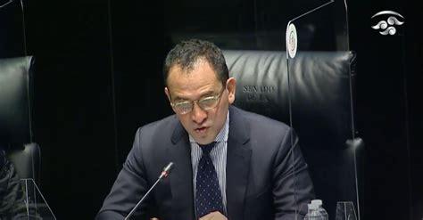 Comparecencia de Arturo Herrera, titular de La Secretaría ...