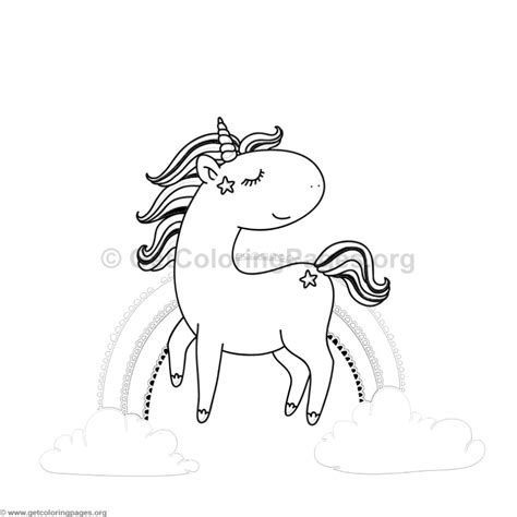 unicorn animal coloring pages  getcoloringpagesorg