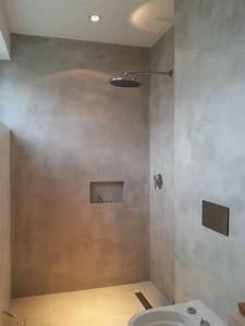 Farbe Auf Beton : die besten 25 betonoptik wand ideen auf pinterest beton ~ Michelbontemps.com Haus und Dekorationen