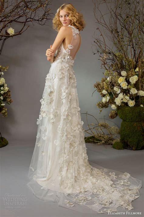 garden wedding dresses elizabeth fillmore fall 2014 wedding dresses wedding