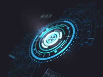 Hud Power Dribbble Futuristic Background Technology Engineering