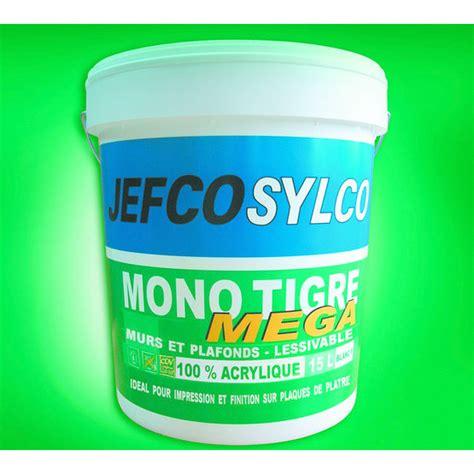 peinture acrylique blanche peinture 100 acrylique blanche opacifiante monotigre mega jefco