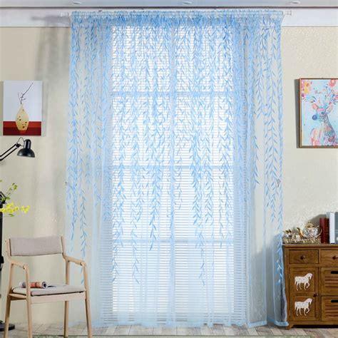 leaf print curtains promotion shop for promotional leaf