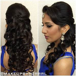 26 Best Hairstyles with Saree in 2017: New ideas you will love!