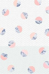 Pink Marble Print Background