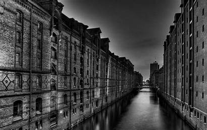 Town Ghost Building Landscape Wallpapers River Bridge