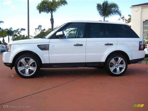 land rover sport white fuji white 2011 land rover range rover sport supercharged