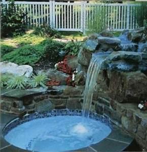 Fontaine Cascade Bassin : bassin de jardin bleu bassin de jardin ~ Premium-room.com Idées de Décoration