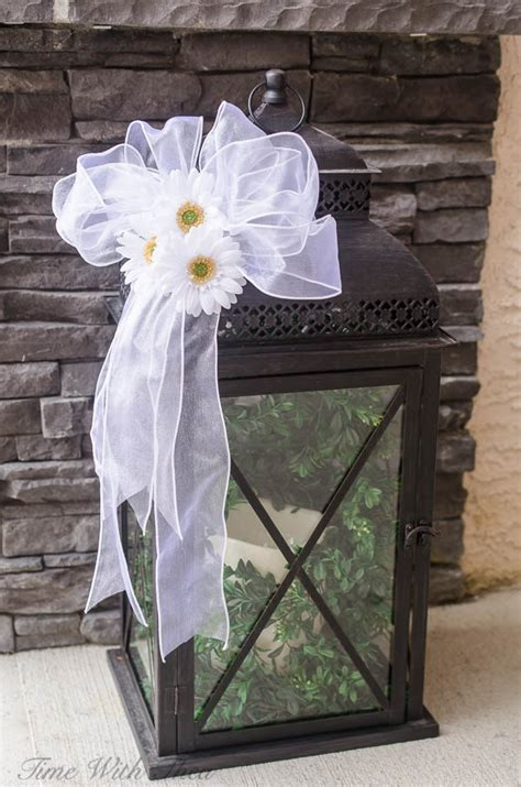 hometalk decorate  outdoor lantern  spring