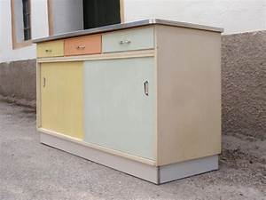 Küchenschrank Mit Schiebetüren : vintage kommode midcentury 50er 60er jahre mehrfarbig ~ Sanjose-hotels-ca.com Haus und Dekorationen