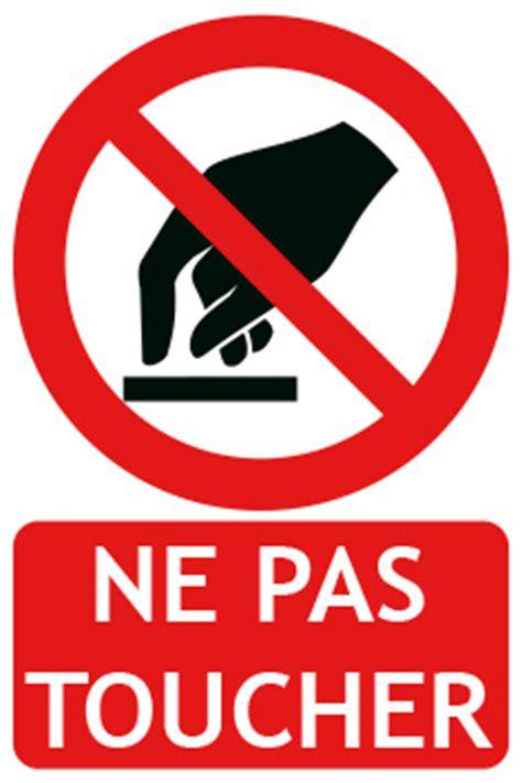 affiche ne pas d anger pour bureau panneau interdiction de fumer