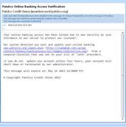email format to send resume to company patelco phishing email scam