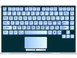 7 best images of printable laptop keyboard printable computer keyboard printable keyboard