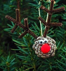 Basteln Kindern Weihnachten Tannenzapfen : ein witziges rentier basteln zu weihnachten 15 anregungen ~ Whattoseeinmadrid.com Haus und Dekorationen