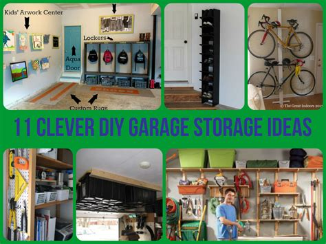 Clever Garage Storage Ideas