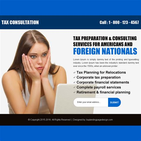 landing tax service ppv example per pay americans consulting