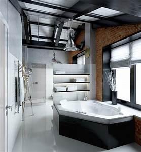 Salle De Bain Style Industriel : d co salle de bain loft ~ Dailycaller-alerts.com Idées de Décoration
