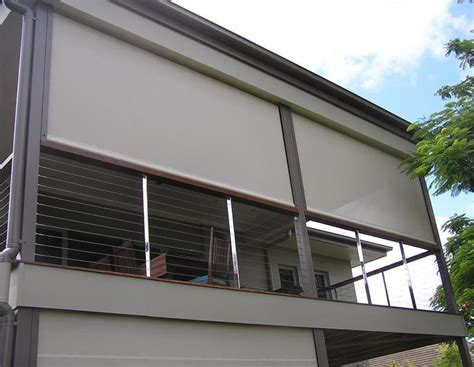 protecting  outdoor blinds  awnings  year long north