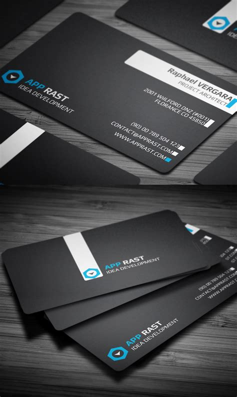 corporate business card templates design graphic