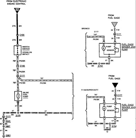 Ford Gas Engine Wiring Diagram Pump