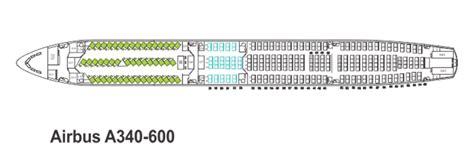 airbus a340 300 stoelindeling mahan air seat map
