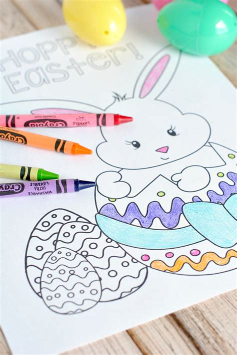 Coloring Ideas by Easter Coloring Pages For Projects