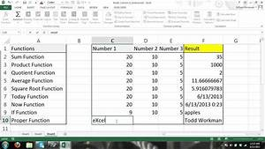 Excel Tutorial  Formulas And Functions For Beginners  4