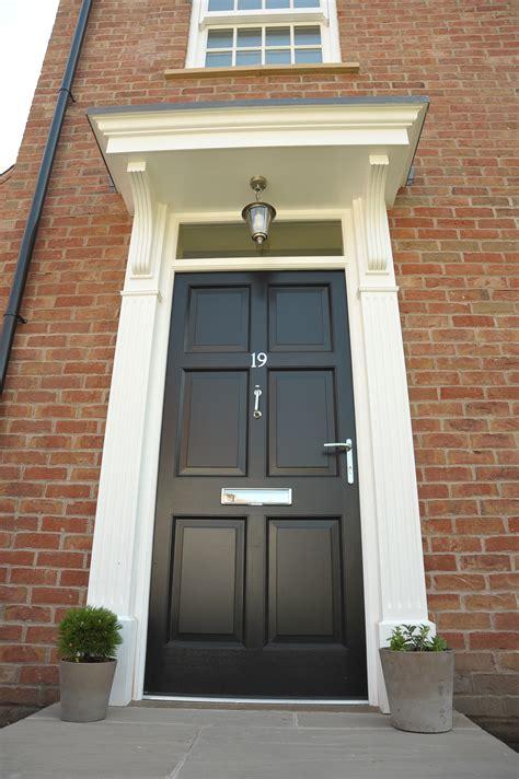 BLACK FRONT DOOR LOOKING UP - Cairns Heritage Homes