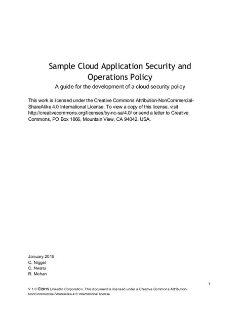 sample cloud application security  operations policy