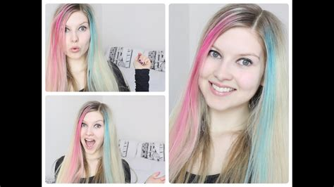 Hair Chalk Review And Demonstration Youtube