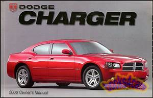 2006 Charger Owners Manual Dodge Handbook Guide Book New 06 R  T Hemi Rt Sxt 2006