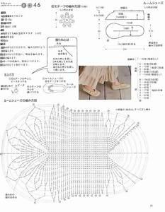 Ergahandmade  Crochet Slippers   Diagrams