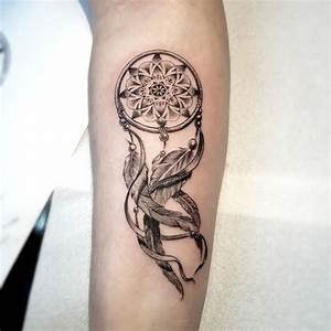 Geometric and Mandala Tattoo  The Black Hat Tattoo