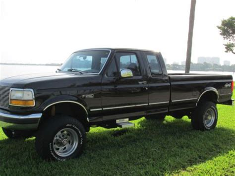 automobile air conditioning repair 1994 ford f250 transmission control purchase used 1994 ford f 250 xlt extended cab pickup 2 door 7 3l in united states