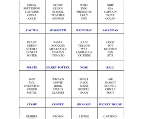 taboo card game iii
