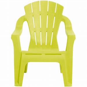 Gifi Chaise De Jardin : fauteuil de jardin plastique pour enfant vert anis mobilier de jardin jardin plein air gifi ~ Mglfilm.com Idées de Décoration