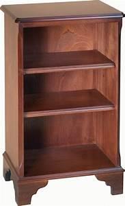 Small, Open, Bookcase, 2, Shelves