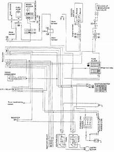 I Am Trying To Find A Wiring Diagram For 1987 Nissan Stanza 4wd  I Want To Know Where And What