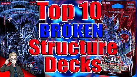 decks structure yu gi oh