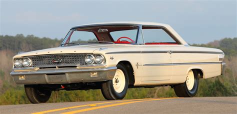 Two-owner 1963 Ford Galaxie 500 Lightweight Sells For 0
