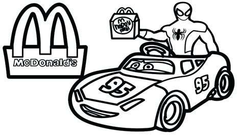 Mcdonald S Restaurant Coloring Pages