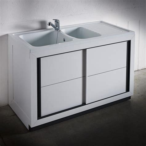 meuble de cuisine porte coulissante composite normandie 1200 x 600 mm boutique pro carea