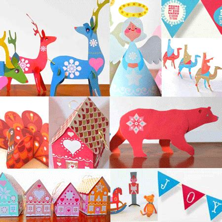 printable christmas cutouts and decorations 10 diy printables easy to make decorations