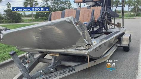 Youtube Airboat Crash by Fwc Investigation Airboat Crash That Ejected Couple Into