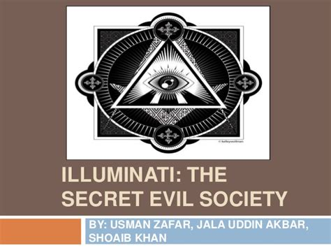 Secret Society Illuminati by Illuminati