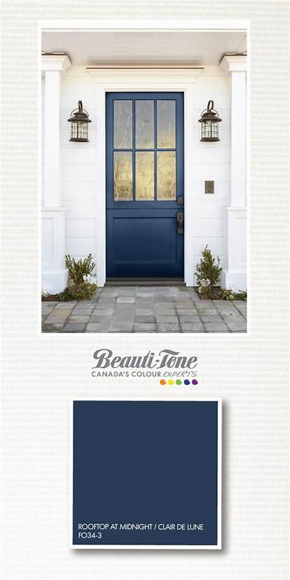 Paint Colours Tone Beauti Colors Door Exterior